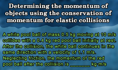 Conservation of Linear Momentum - Example 3