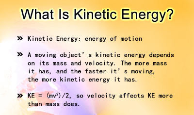 Forms of Energy - Example 1