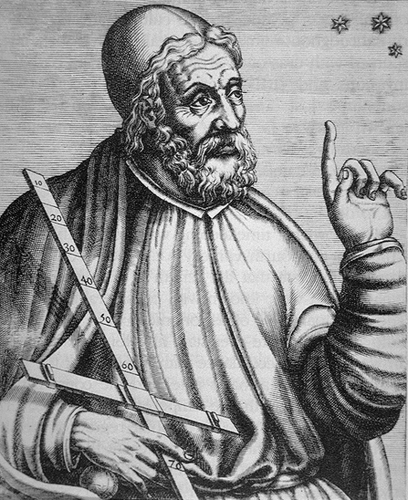 Ptolemy and His Cross Staff.