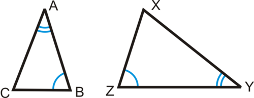 SLT 8 Use triangle similarity criteria (AA, SAS, SSS) to show that two triangles are similar.