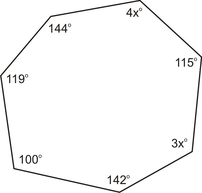 Sum Of The Interior Angles Of A Polygon Ck 12 Foundation