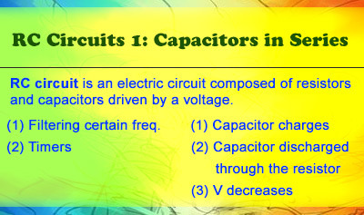 RC Circuits 1: Capacitors in Series - Overview