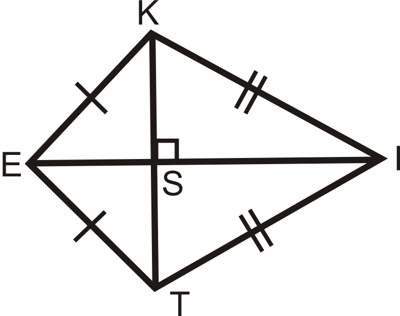 Kites ( Read ) | Geometry | CK-12 Foundation
