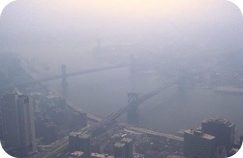 Smog in New York City