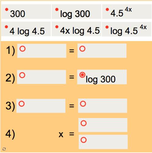 Logarithmic Puzzle