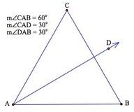 Bisectrices en el triángulo