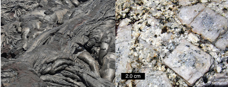 Intrusive and Extrusive Igneous Rocks