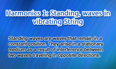 Harmonics 1: Standing Waves in Vibrating Strings - Overview