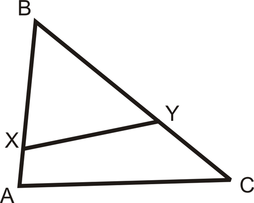 SLT 10 Use triangle similarity to prove the Triangle Proportionality Theorem and its converse.
