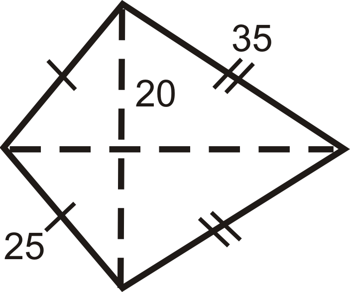 Area and Perimeter of Rhombuses and Kites ( Read ... | 703 x 587 png 42kB