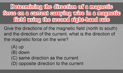 Second Right-Hand Rule: Direction of Magnetic Forces - Example 1