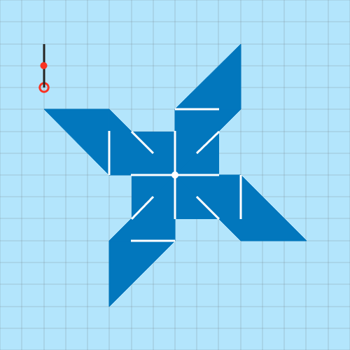 Area of a Pinwheel