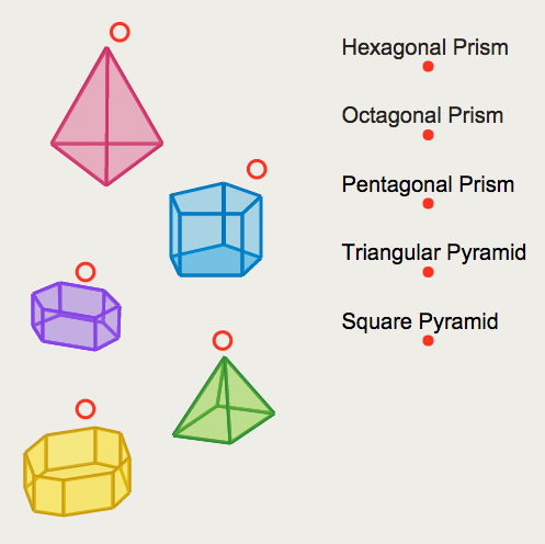Classification of Solid Figures: Naming Shapes