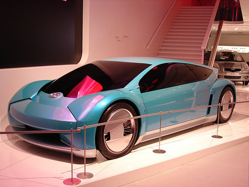 A Toyota concept car.