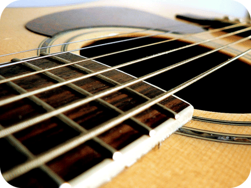 Guitar strings are made from alloys