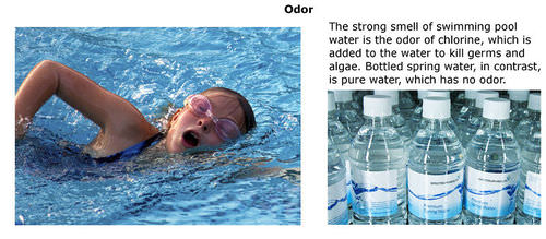 Odor of water