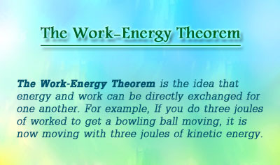 The Work-Energy Theorem - Overview