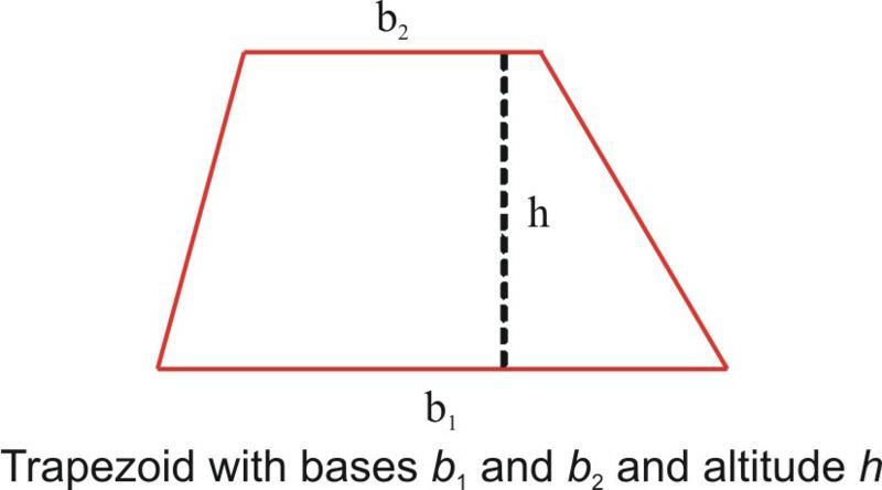 how to find the sides of a trapezoid