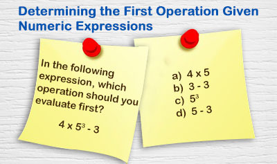 Evaluating Numeric Expressions - Example 1