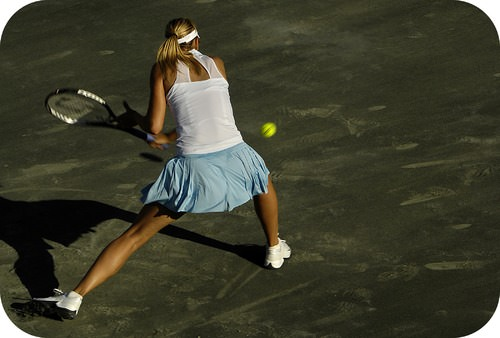 Matches on different tennis court surfaces feel like distinct experiences as a result of friction