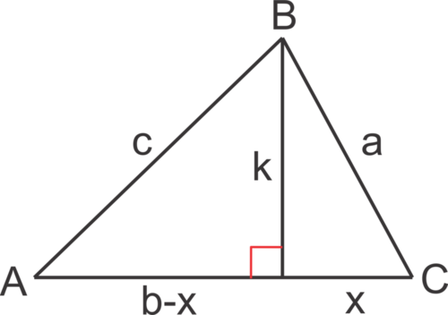 Using the Law of Cosines with SAS (to find the third side)