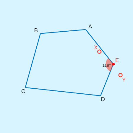 Interior Angles in Convex Polygons