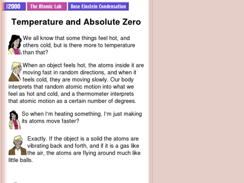 Temperature and Absolute Zero