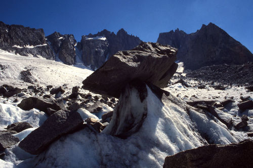 Deposition by Glaciers (Ice)