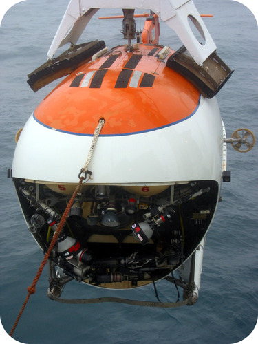 Russian ocean submersible can withstand a great amount of pressure