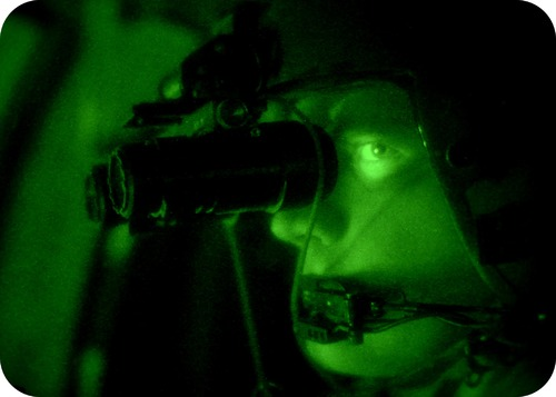Lanthanides are used in night vision goggles