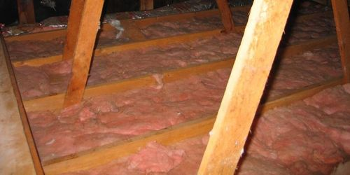 Home insulation helps reduce unwanted heat loss