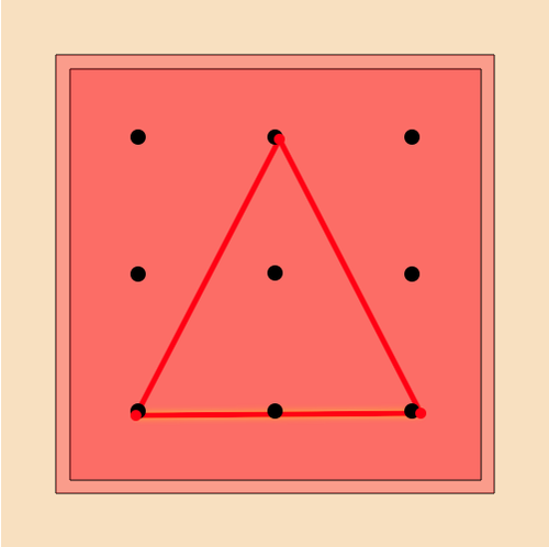 Triangle Classification: Types of Triangles on a Geoboard