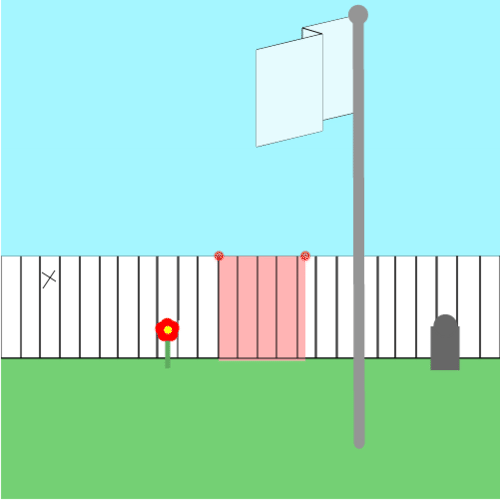 Absolute Value: Picket Fence Painting