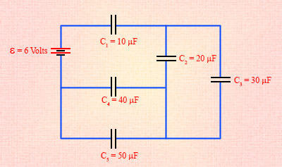 Capacitors in Series and Parallel Flashcards
