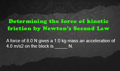 Frictional Force - Example 4