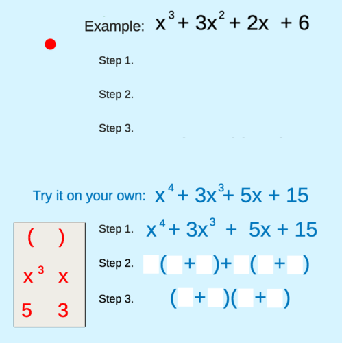 Factoring by Grouping: Polynomials