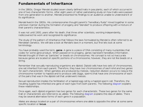 Fundamentals of Inheritance