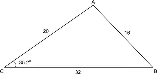 Identify Accurate Drawings of Triangles