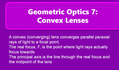 Geometric Optics 7: Convex Lenses - Overview