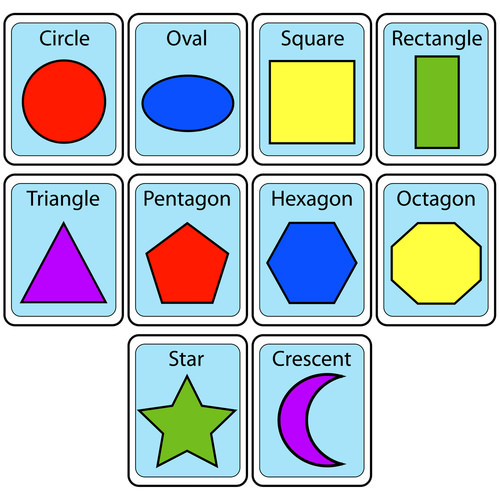 Set of Shapes Flashcards