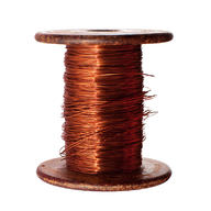 Coil of copper wire, which conducts electricity well due to metallic bonds