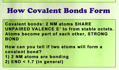 How Covalent Bonds Form