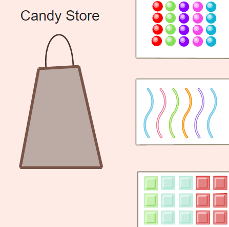 Intersection of Compound Events: Candy Store