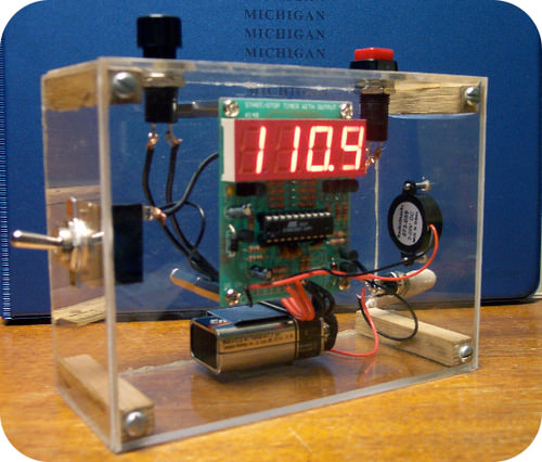 Measuring time precisely is important in kinetic studies