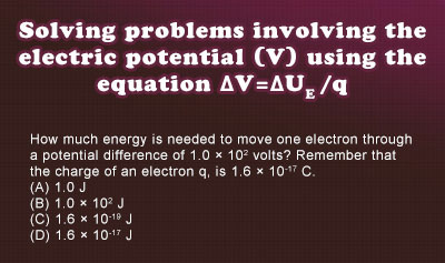 Electrical Potential - Example 1