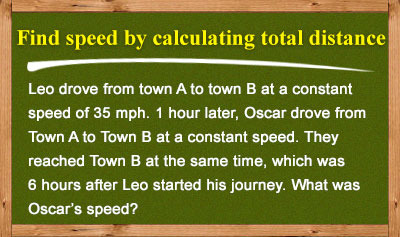 Speed Challenge Problems - Level One - Example 6