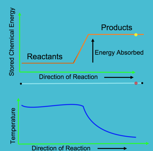 Endothermic Reactions: Change in Temperature