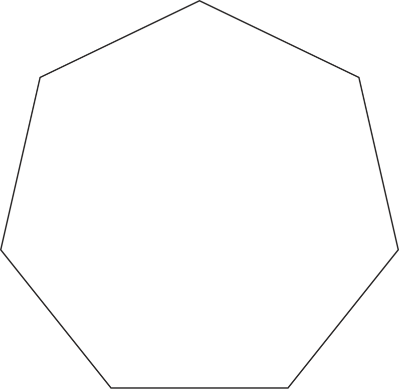September 25 2012 nonagon by 10binary on DeviantArt |Nonagon Shape In Real Life