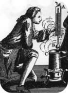 Portrait of Daniel Gabriel Fahrenheit