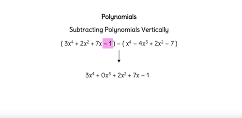 Polynomials In Standard Form Ck 12 Foundation
